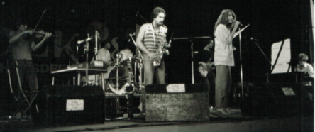 Optreden van Madou, begin jaren 1980