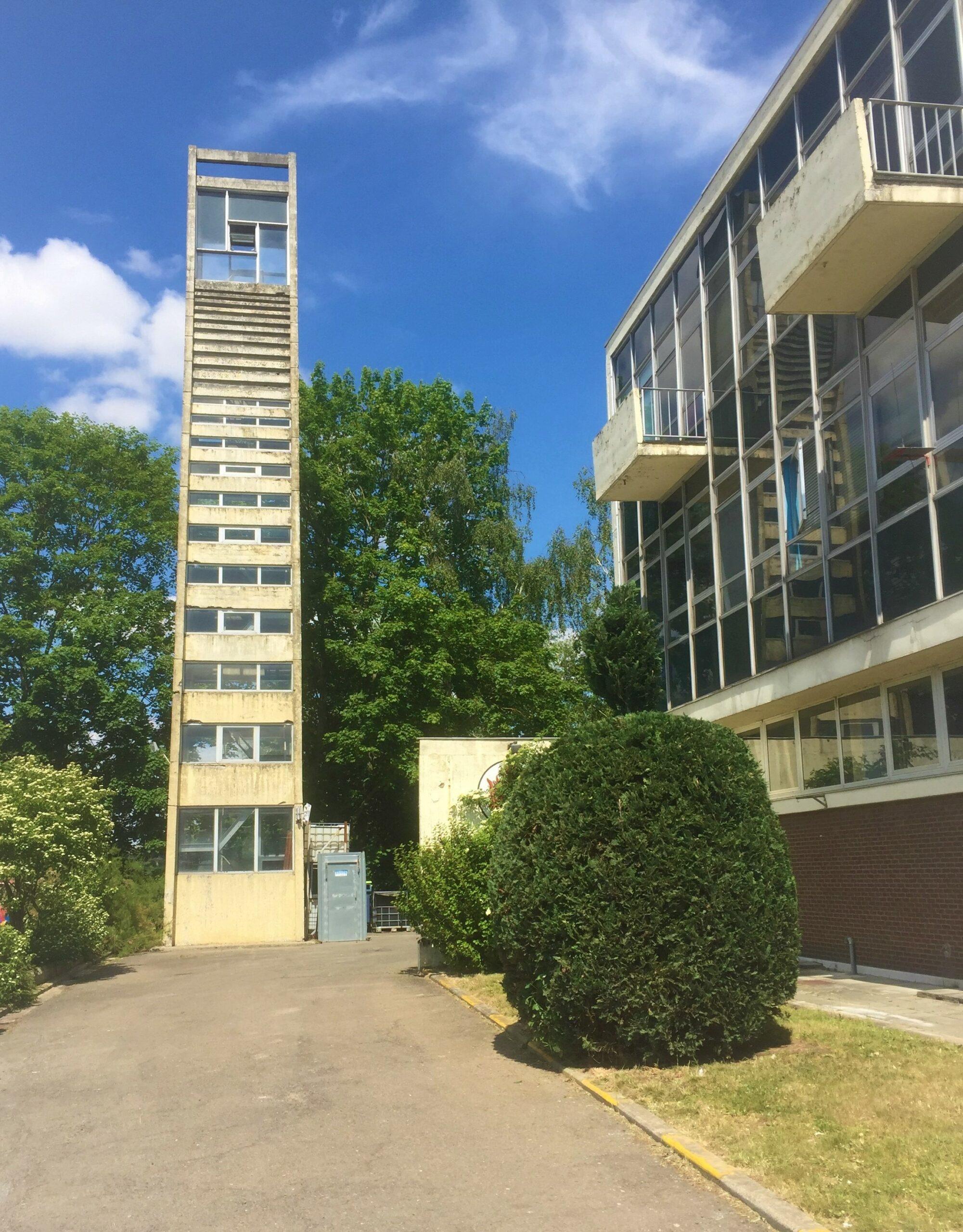 De brandweertoren van Tubize is de mooiste toren van België.